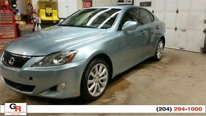 2007 Lexus IS250 AWD local Manitoba vehicle