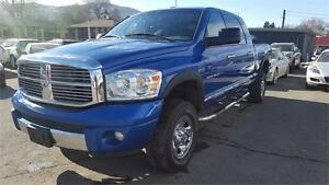 2007 Dodge Ram 1500 Laramie MEGA CAB  4X4 8500GVWR -ARRIVED 02