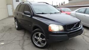 2006 Volvo XC90 2.5L Turbo 7 seat with Safety Certificate