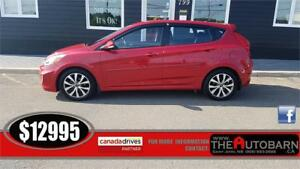 2015 HYUNDAI ACCENT GLS HATCHBACK - Cruise, bluetooth.