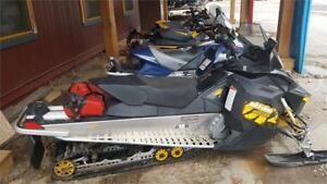 2009 SKIDOO MXZ RENEGADE 800R IN GOOD OVERALL CONDITION LOW KMS