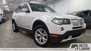 2009 BMW X3 30i CUIR, MAGS, TOIT PANORAMIC, TRES PROPRE!