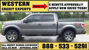 2010 Ford F-150 FX4 4x4 ~ LOADED! 5.4L~ Tow Pkg ~ 5 Min Approval