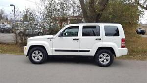 2009 Jeep Liberty Sport 4X4 ,P.GROUP ,Certified  $6475