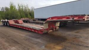Talbert 55 Ton RGN Tridem Axle Float Trailer