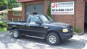 2008 Ford Ranger XL -RWD 5 Speed $3,900 Safetied and E-Tested