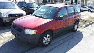 2003 Ford Escape XLS Duratec 6cyl 4WD