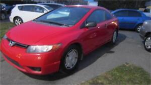 2008 Honda Civic Coupe AUTOMATIQUE TOUT EQUIPE BAS KILOMÈTRAGE