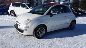 2012 FIAT 500 C -LOUNGE - CONVERTIBLE - AUTO - CUIR - FULL