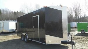 2018 NEW 8,5X20 (7'3''INTERIOR HEIGHT, 5200lbs AXLES AND RAMP DO