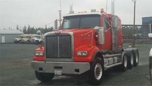 "2011 Western Star 4 Axle 40"" Bunk"