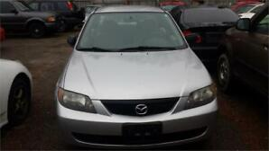 2003 MAZDA PROTEGE AUTOMATIC GOOD RUNNING CONDITION FOR PARTS