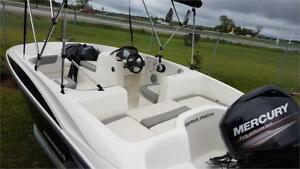 2014 Bayliner Element E16 with 60HP ELPT CT Mercury Motor!