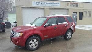 2008 FORD ESCAPE XLT-4WD-SUNROOF-LOADED-ALLOYS
