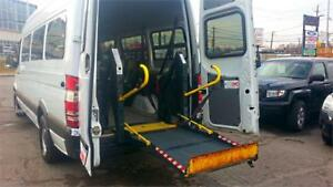 2008 Dodge Sprinter /45 IN STOCK !/ WHEELCHAIR ACCESSIBLE VAN