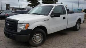 2011 Ford F150 XL, 8 Foot Long Box, Trailer Package, V6 3.7L!