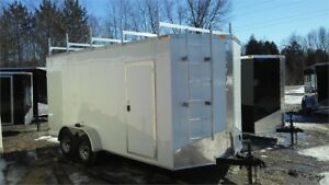 2019 New 2018 7x16 7' high enclosed cargo trailer