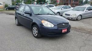 2010 Hyundai Accent L, Certified