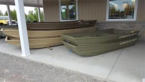 Jon Boats - Selection of various sizes in stock!