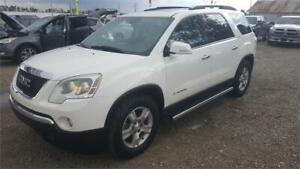 2007 GMC ACADIA SLT-1   WITH ONE YEAR WARRANTY