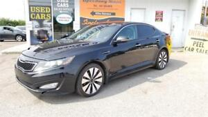 "2012 Kia Optima SX - FullyLoaded,Navigation,18"" Wheels,Certified"