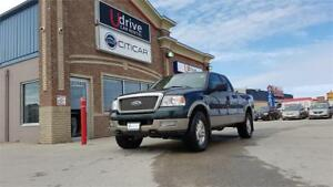 2004 Ford F-150 LARIAT* 4×4! LEATHER LOADED! ALPINE TOUCH STERIO