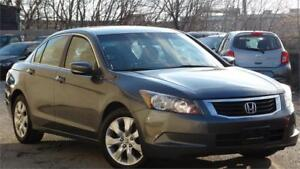 2008 Honda Accord Sdn EX-L with safety and leather sunroof
