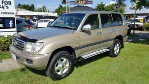 Need a Tow Vehicle? V8 Automatic - 2003 Toyota LandCruiser Wagon Westcourt Cairns City Preview