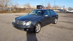 2005 Mercedes Benz E500 4Matic Navigation
