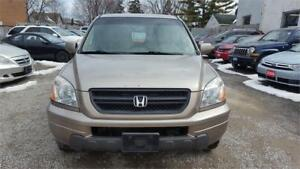 2003 HONDA PILOT AUTOMATIC 8 SEATER AWD LEATHER