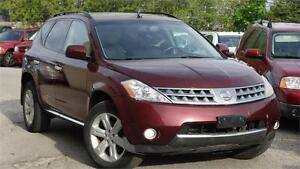 2006 Nissan Murano SL with safety standerd