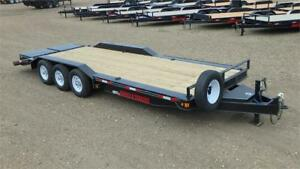 "2017 83"" x 24' Triple Axle Equip -Wide Body (21000 GVW) Double A"
