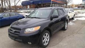 2007 Hyundai Santa Fe | Leather | Sunroof|Certified and E-tested