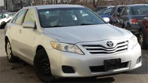 2010 Toyota Camry LE with safety certificate