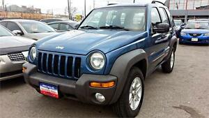 2004 Jeep Liberty Sport, 104k!! Auto,4X4, ONE OWNER VEHICLE!!!