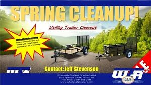 6'X9' UTILITY ATV TRAILER - SPRING CLEAROUT PRICING