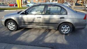 2003 Honda Civic Sdn DX** FINANCING**FREE 6 MONTH WARRANTY**