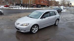 2005 Mazda3 GT SPORT----CUIR- TOIT-MAGS