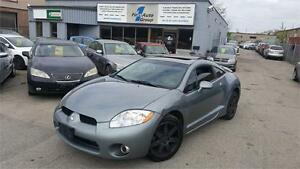 2008 Mitsubishi Eclipse GT-P V6 3.8L LEATHER, P-MOON, BLUETOOTH