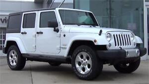 2014 Jeep Wrangler Unlimited Sahara 4x4|Automatic|Removable Tops