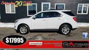 2017 CHEVROLET EQUINOX LT - 4cyl, auto, 5 passenger, alloy wheel