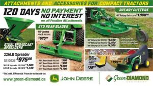 ALL FRONTIER ATTACHMENTS 120 DAYS 0 PAYMENT 0 INTEREST