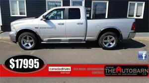 2011 DODGE RAM 1500 BIG HORN - 4WD, SIRIUS, BLUETOOTH, CRUISE