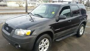 2007 Ford Escape   limited  leather  XLT 4WD