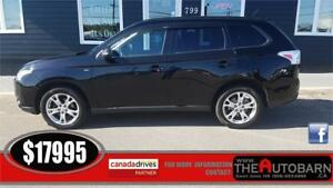 2014 MITSUBISHI OUTLANDER SE - 6CYL, 7 pax, cruise, bluetooth