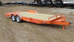 2016  22' Equipment Trailer (14000 GVW) Double A Trailers