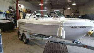 2012 Triumph 191FS with 150HP Yamaha  ** Just reduced!!  **