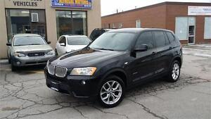 2011 BMW X3 xDRIVE 28i PANORAMIC ROOF AWD SAFETY ETESTED
