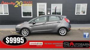 2014 FORD FIESTA SE HATCH - CRUISE, BLUETOOTH, HEATED SEATS