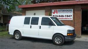 2010 Chevrolet Express Cargo Van - ALL WHEEL DRIVE!  RARE VAN!